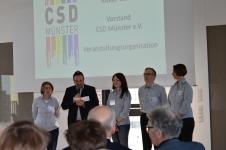 Der Vorstand des CSD Münster e.V.