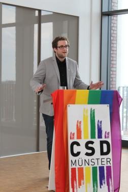 CSD Münster Vorstandsmitglied Andreas Sahner